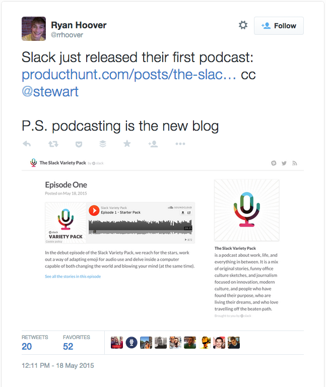 Why Podcasting is the New Blogging