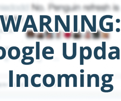 Yet ANOTHER Google Algorithm Update On The Way…
