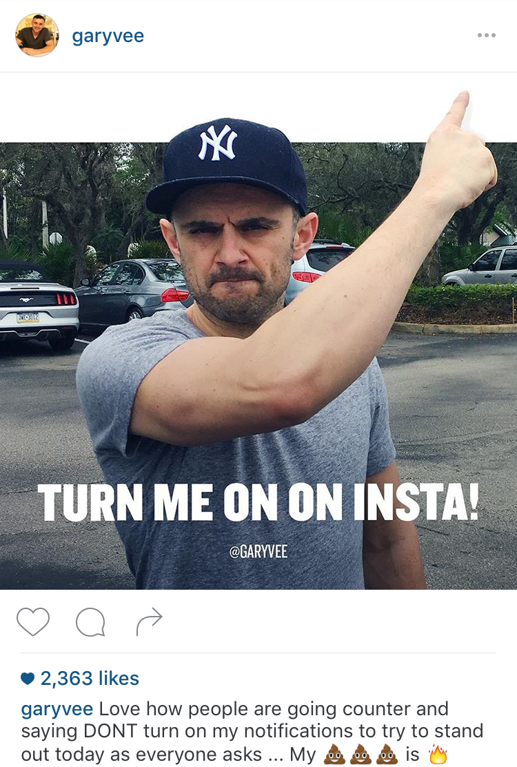 Even famous investor Gary Vaynerchuck got in on the madness.