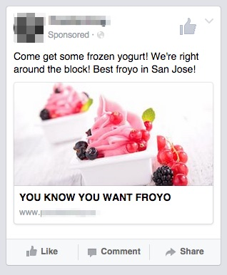 froyo ad local