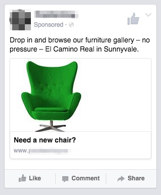 need a new chair local ad