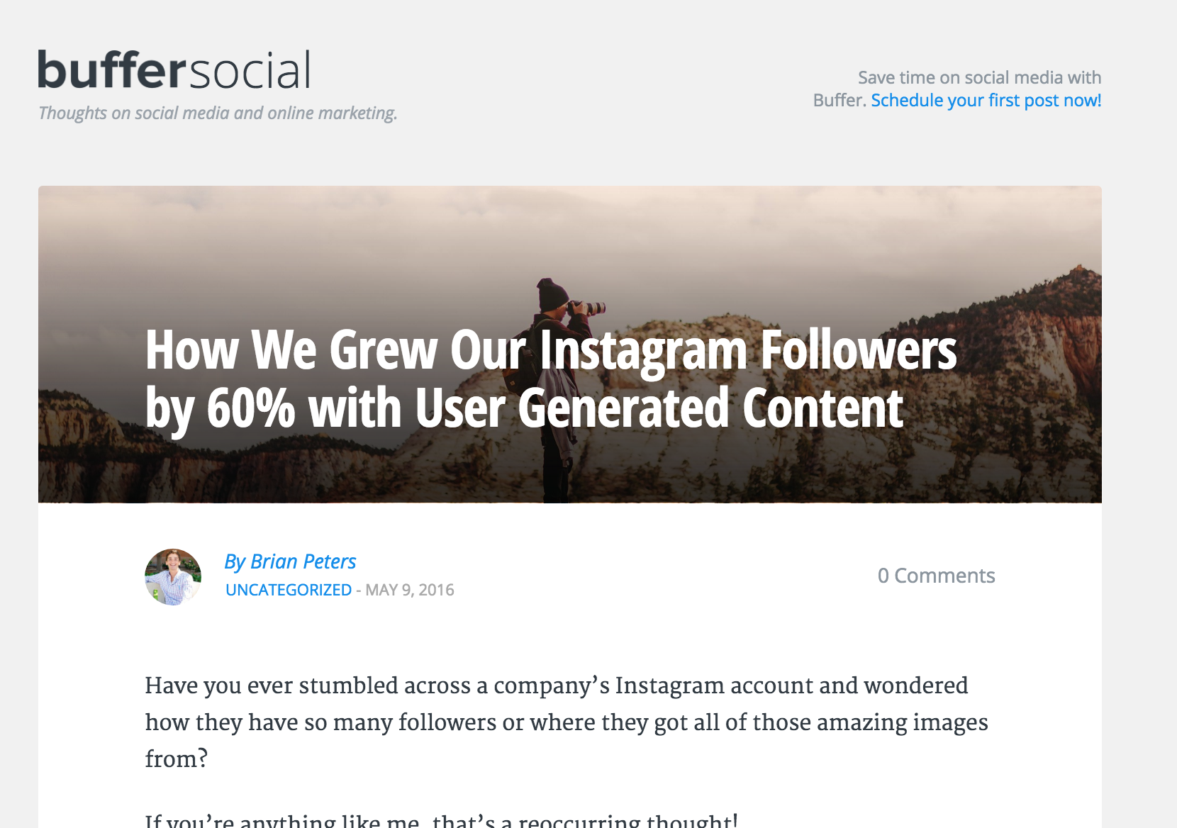This Company Grew Their Instagram Followers by 60% By Letting Users Create Content for Them